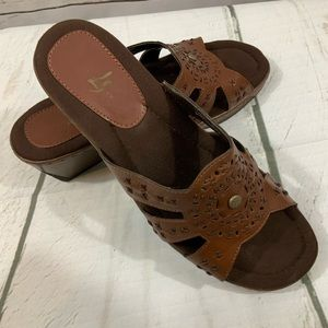 Sandals By Life Stride Size 9 1/2 New